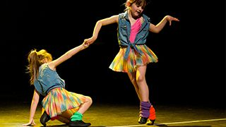 Primary school classes at Shuffle Dance, Fife